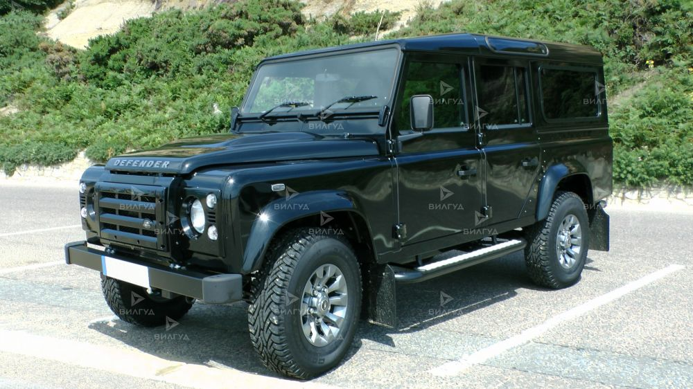 Диагностика ошибок сканером Land Rover Defender в Королеве